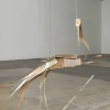 Tom Thayer<br> <em>Paper Crane</em>, 2010-2011<br> Mixed media<br> Approximately 30 x 24 x 12 inches